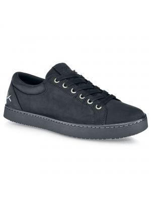 Finn Black Leather